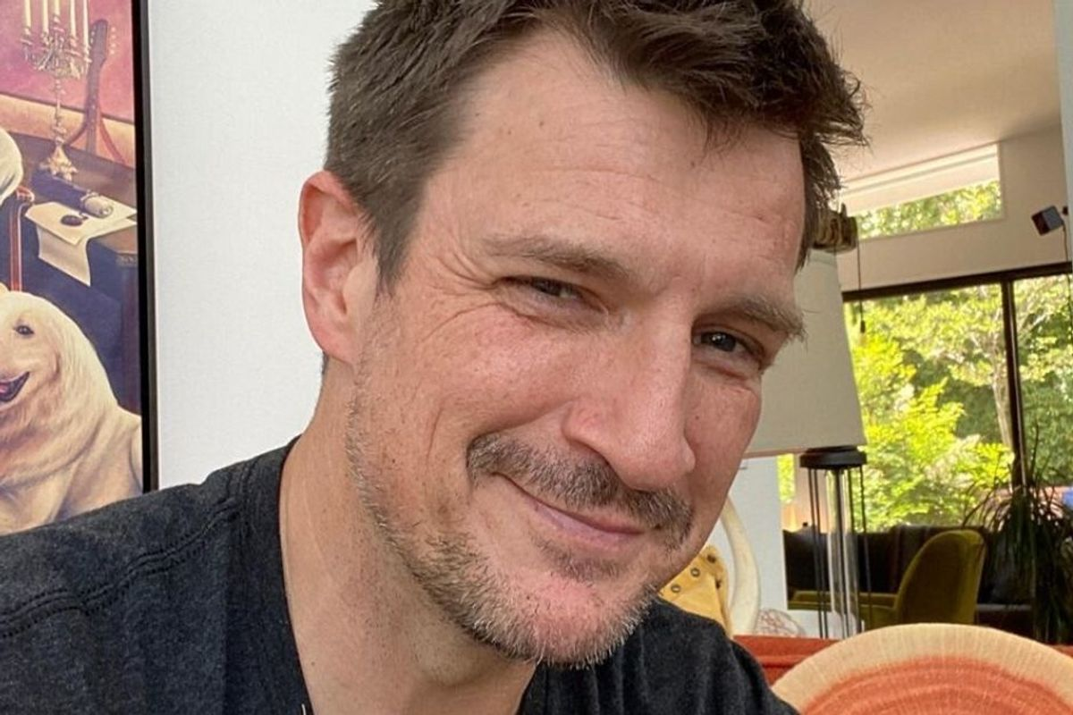 Nathan Fillion shared a sweet pay-it-forward story after a Costco employee helped his mom