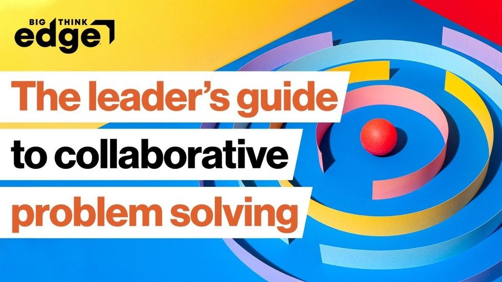 LIVE AT 2 PM ET | Lead your team toward collaborative problem solving