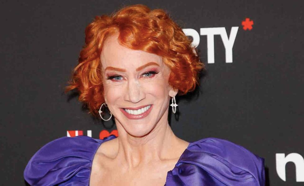 Kathy Griffin unhinged again, wants President Trump injected with potentially fatal syringe full of air. Reaction is not kind.