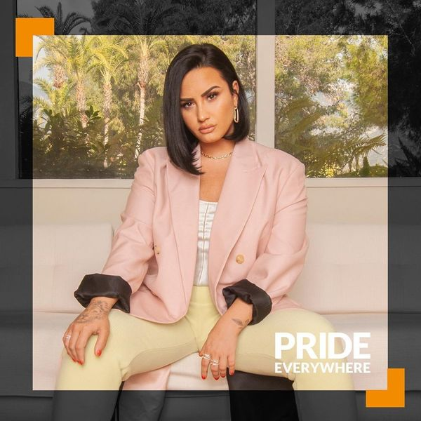 Demi Lovato Teams With The Trevor Project for Pride