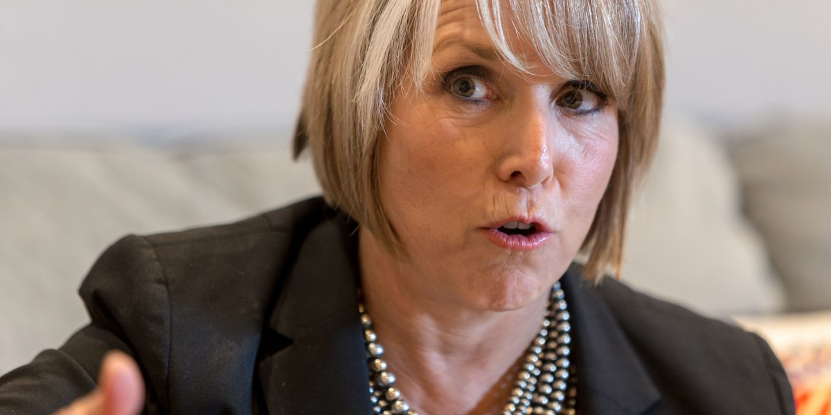New Mexico`s Democratic governor ordered strict virus measures...