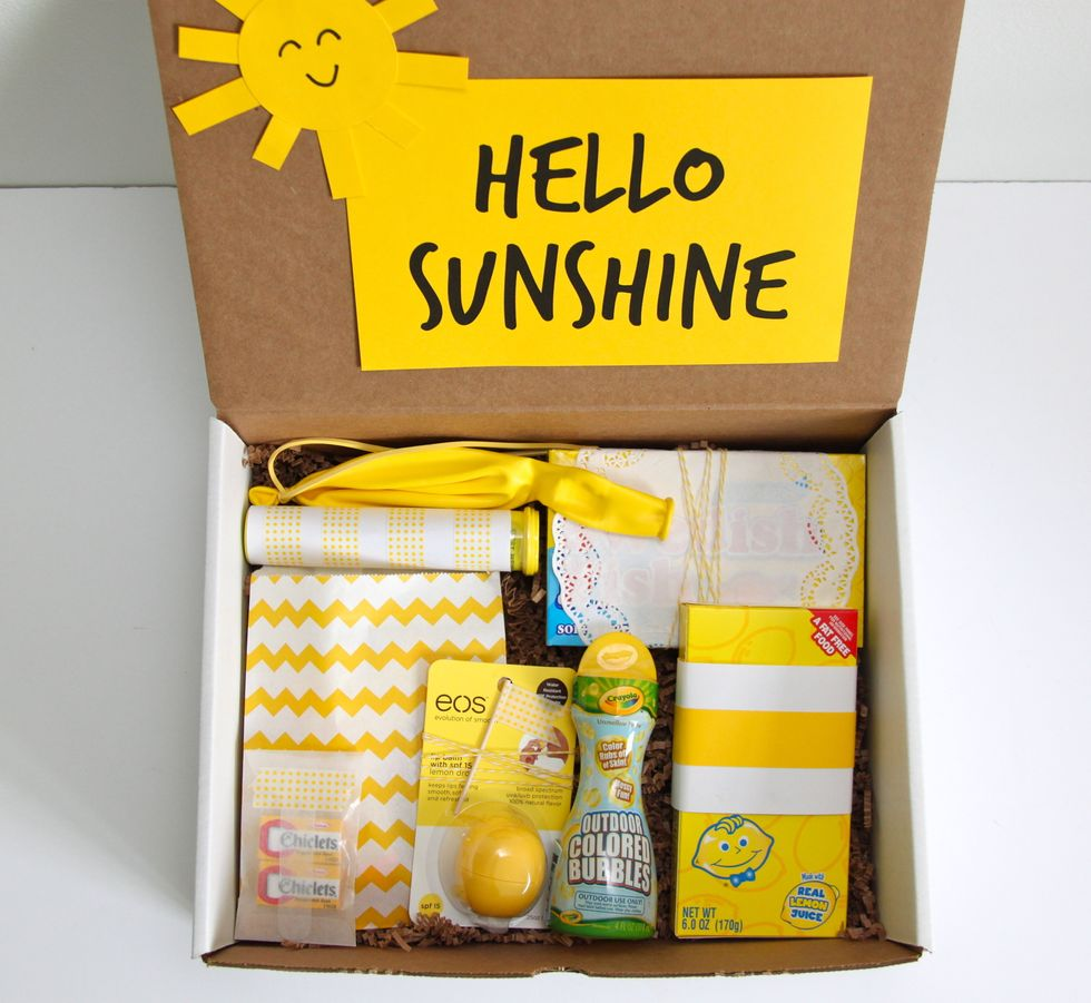 Box Of Sunshine Ideas You Can Send To Anyone