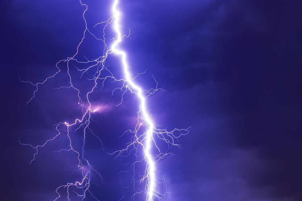 Poetry On The Odyssey: Lightning
