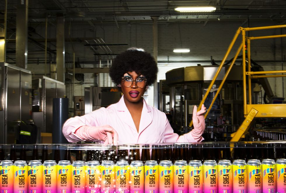 Shea Couleé Collaborates With Goose Island Beer Co. - PAPER
