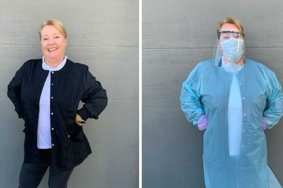 For medical professionals on the front lines, protective equipment is a priceless gift