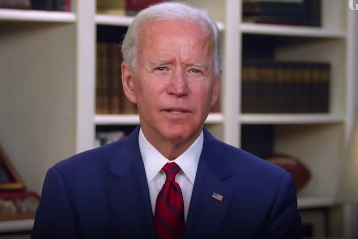 After the 100,000th death from COVID-19, Joe Biden delivered a solemn but hopeful message to Americans