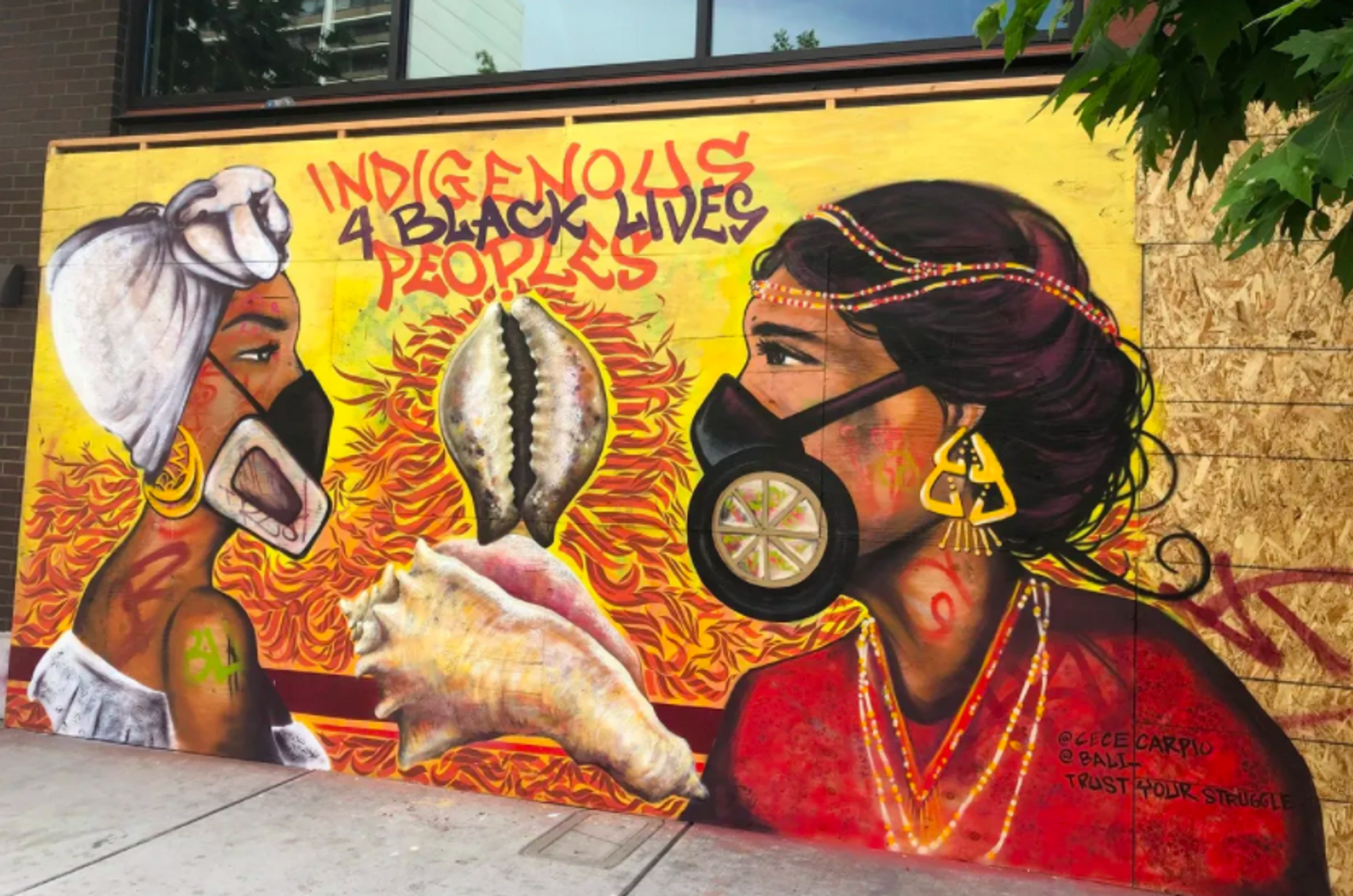 Breathtaking murals for justice proliferate on the streets of downtown Oakland