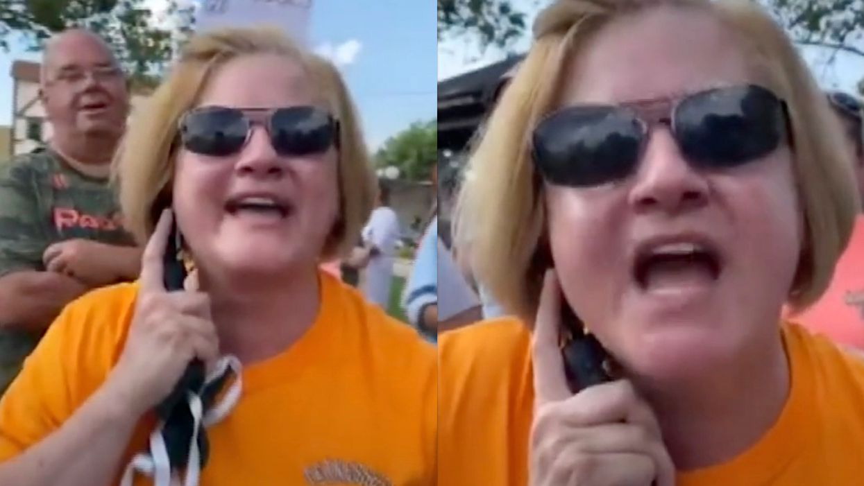 Woman loses job over viral video of her yelling, 'white lives are better' at Black Lives Matter protesters