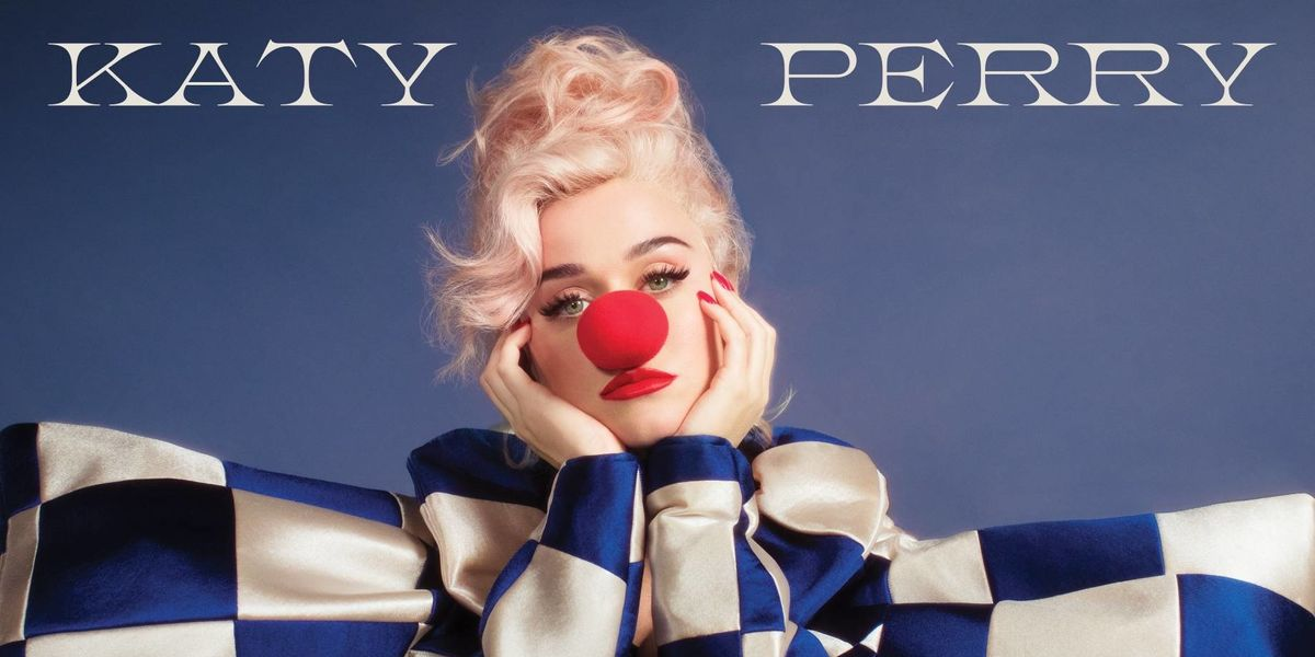 Katy Perry Is a Clown for New Album, 'Smile'