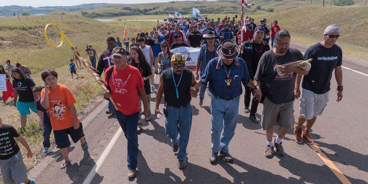 Dakota Access Pipeline Standing Rock Sioux