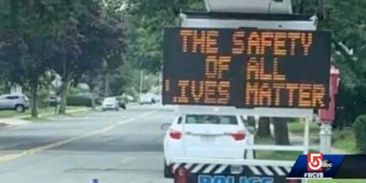 City officials apologize for traffic message that read, 'The Safety of All Lives Matter'