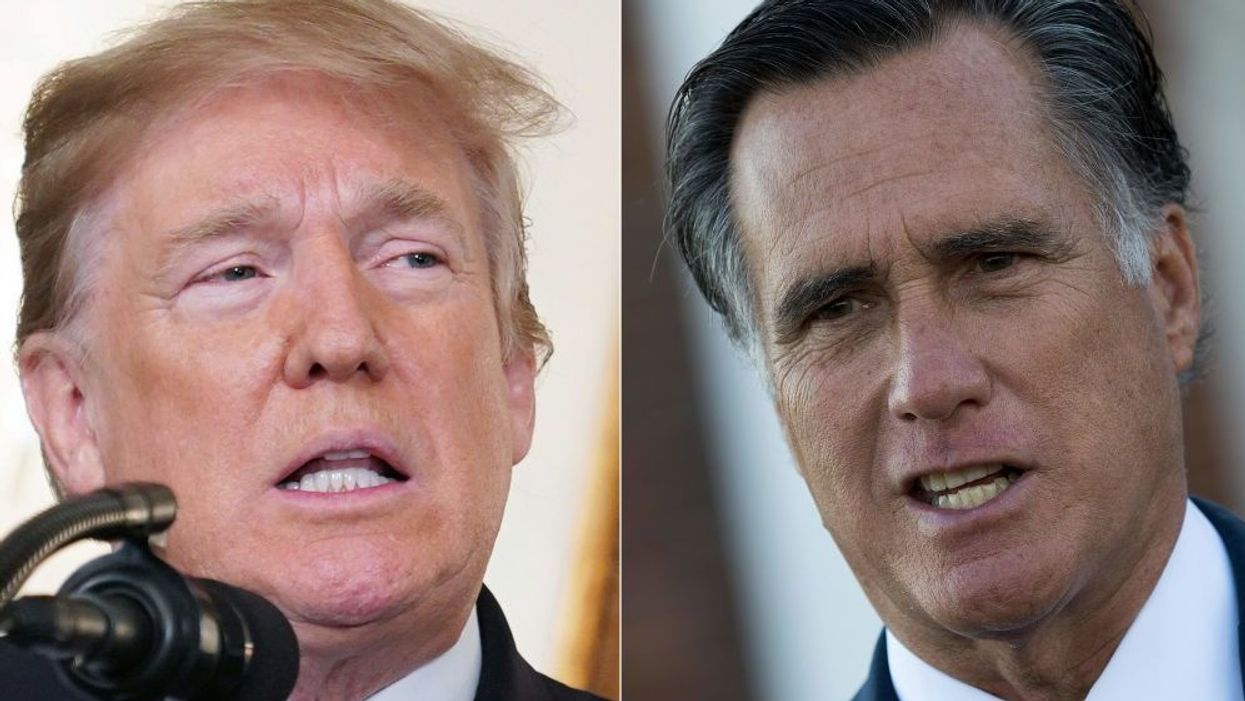 'Historic corruption': Mitt Romney unloads on President Trump for commuting Roger Stone's sentence