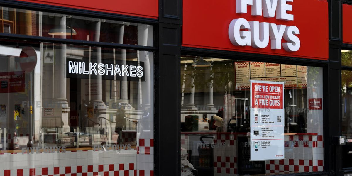 Five Guys employees who refused to serve police have been fired, suspended