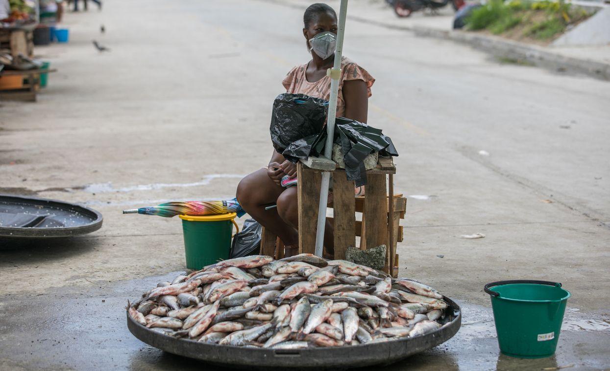 Un Fotoperiodista Afrocolombiano Documenta La Crisis del Coronavirus en Chocó
