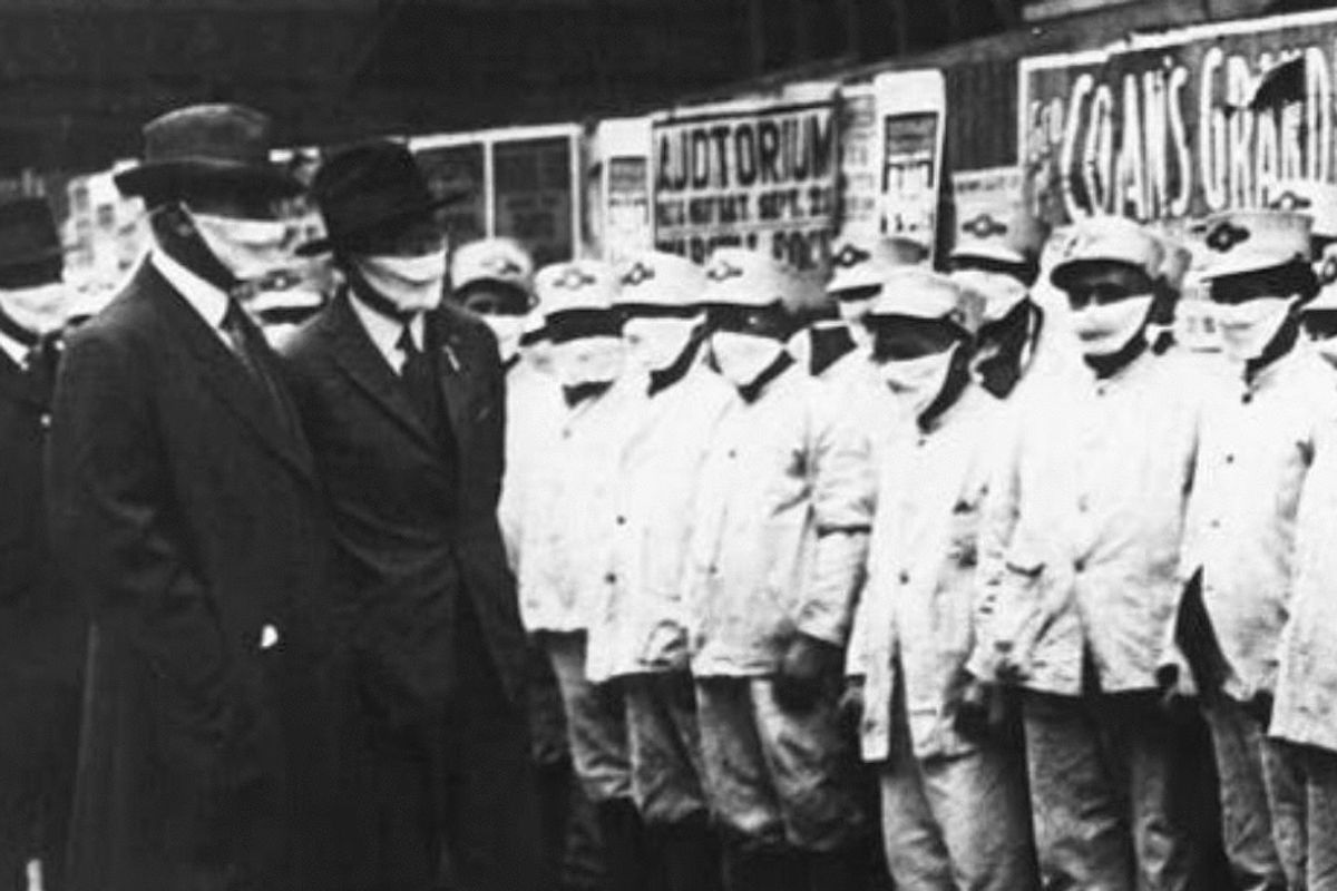 Mask resistance isn't new—there were plenty of anti-maskers during the 1918 pandemic as well