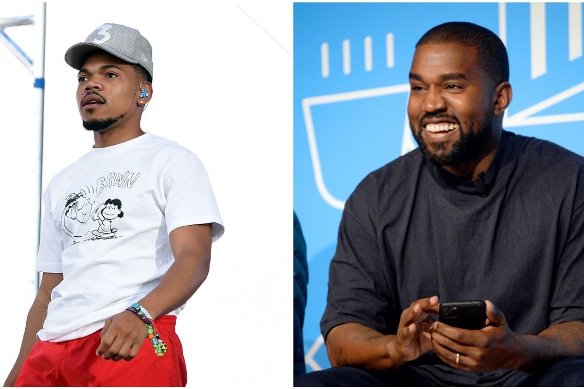 Chance the Rapper Criticized For Defending Kanye West's Presidential Bid