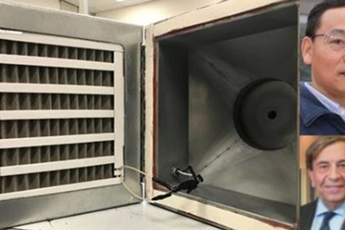 Researchers invented an air filter that instantly eliminates 99.8% of COVID-19