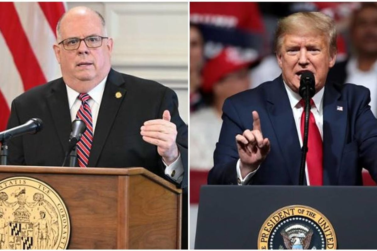 Maryland's Republican governor drops a truth bomb on Trump's failed COVID-19 response