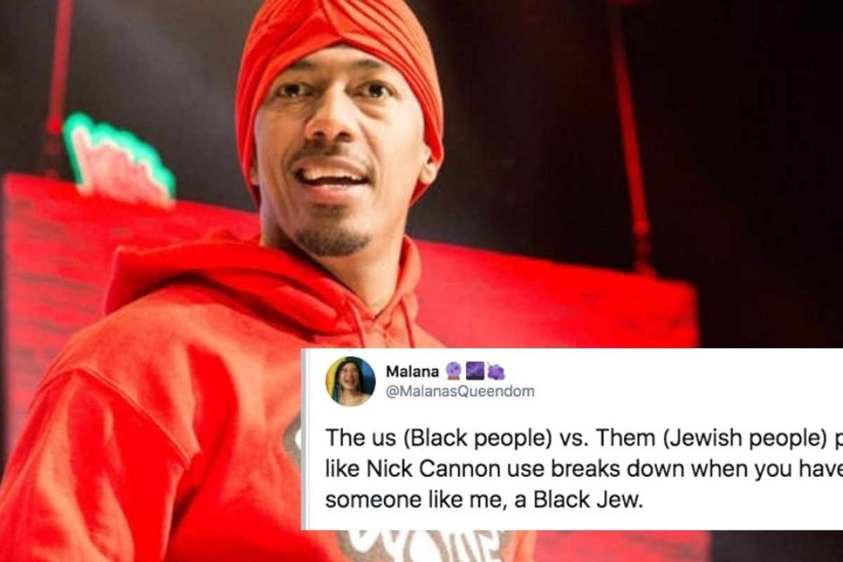 A Black Jewish woman shared her unique perspective on Nick Cannon's anti-semitic comments