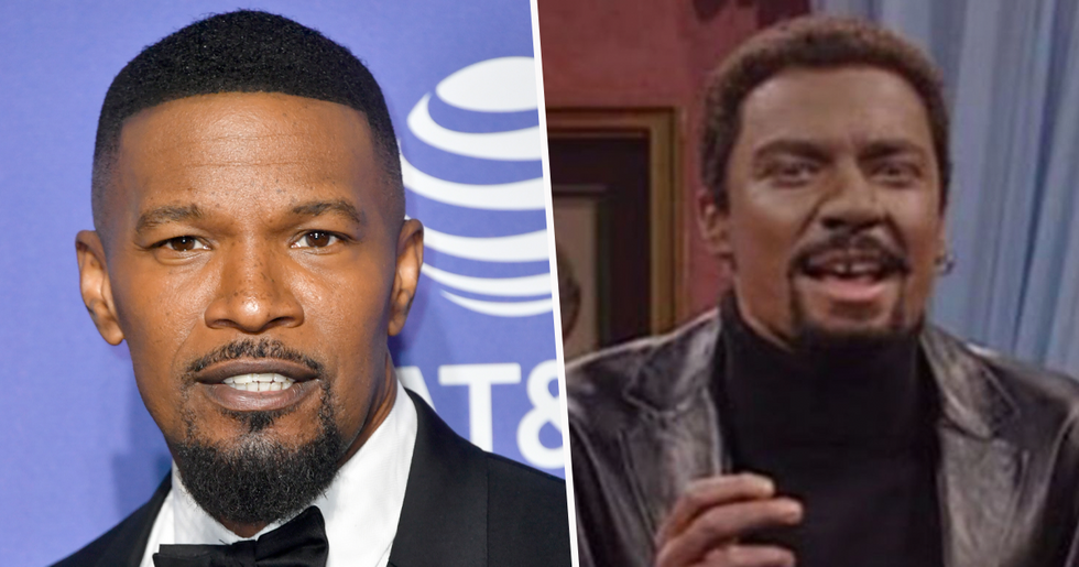 Jamie Foxx Defends Jimmy Fallon After 'Black Face' Controversy