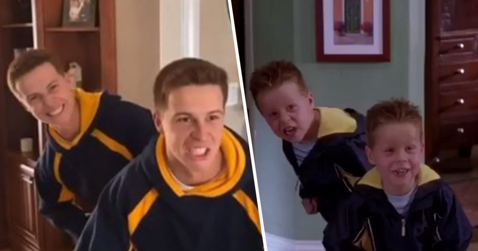 Cheaper by the Dozen Cast Recreate Scenes From the Movie 17 Years Later