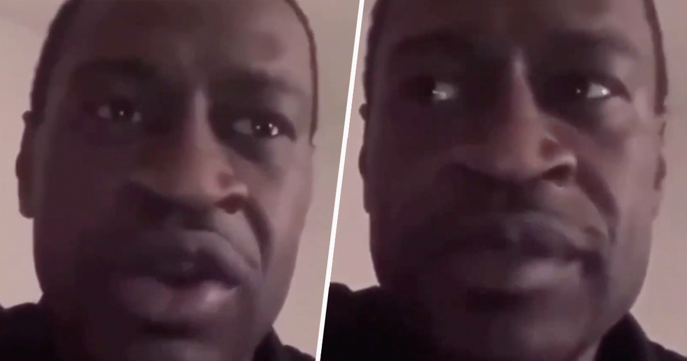 Heartbreaking Resurfaced Video Shows George Floyd Calling for an End to Gun Violence