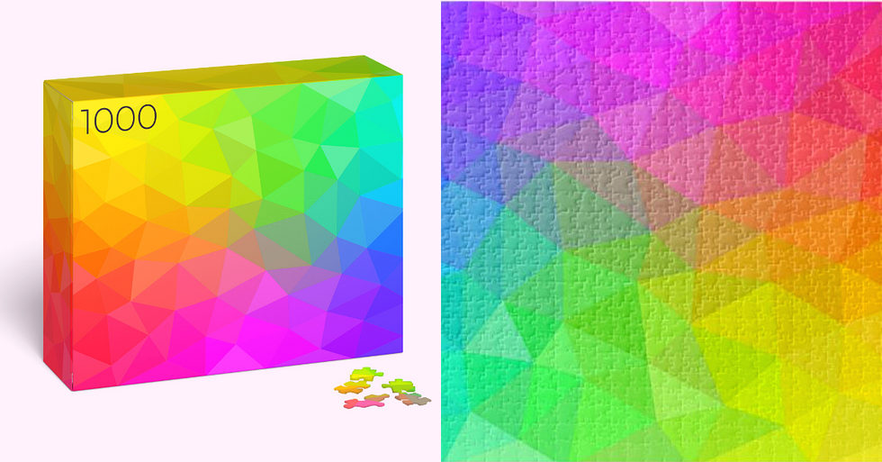 The Tessellated Triangle Color Puzzle is Driving People Insane