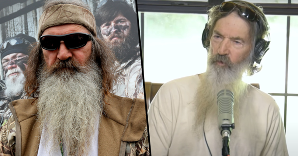 'Duck Dynasty' Star Phil Robertson Just Found out He Has a 45-Year-Old Daughter From an Affair