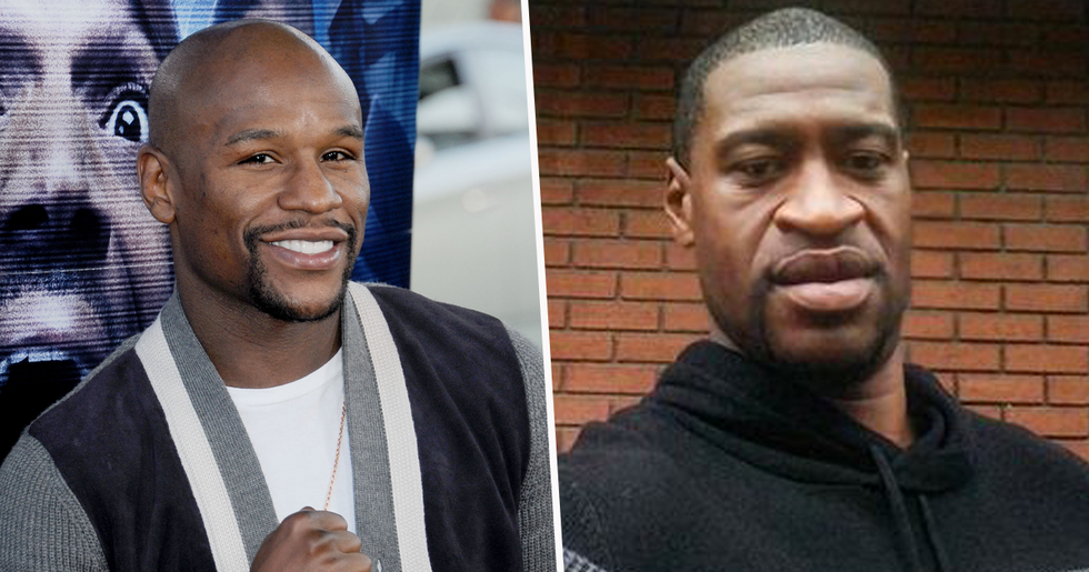 Floyd Mayweather Offers to Pay For George Floyd's Funeral Costs