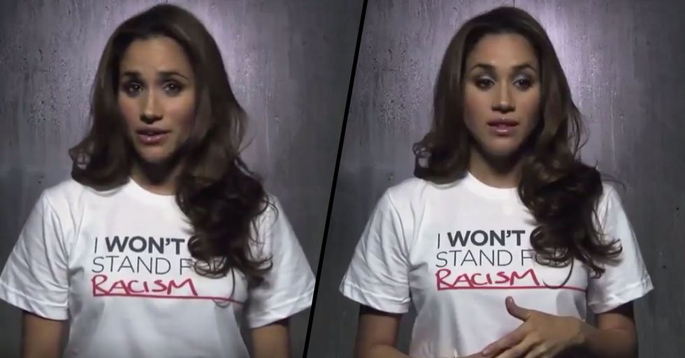 Resurfaced Video Shows Meghan Markle Eloquently Speaking About Her Own Experiences of Racism