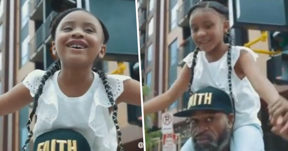 George Floyd's 6-Year-Old Daughter Filmed Saying 'Daddy Changed the World'