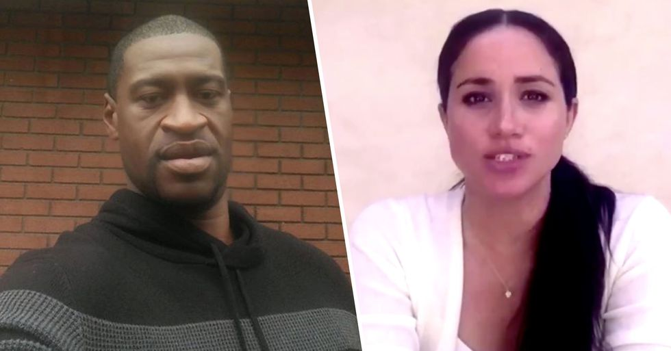 Meghan Markle Speaks out Over George Floyd's Death in Emotional Video
