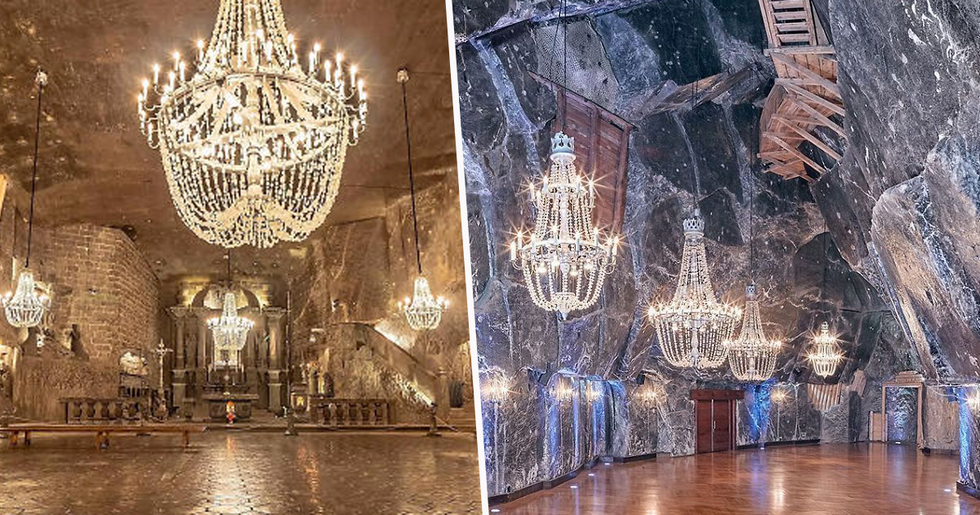 Salt Mine in Poland With Underground Lakes, Chapels, and Chandeliers Looks Unbelievably Beautiful