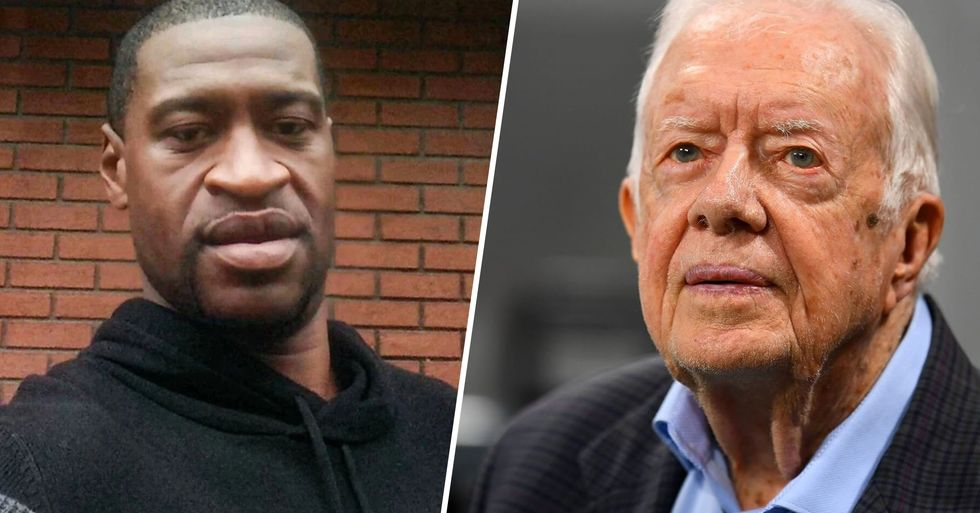 Jimmy Carter Says He's 'Pained' by the Killing of George Floyd