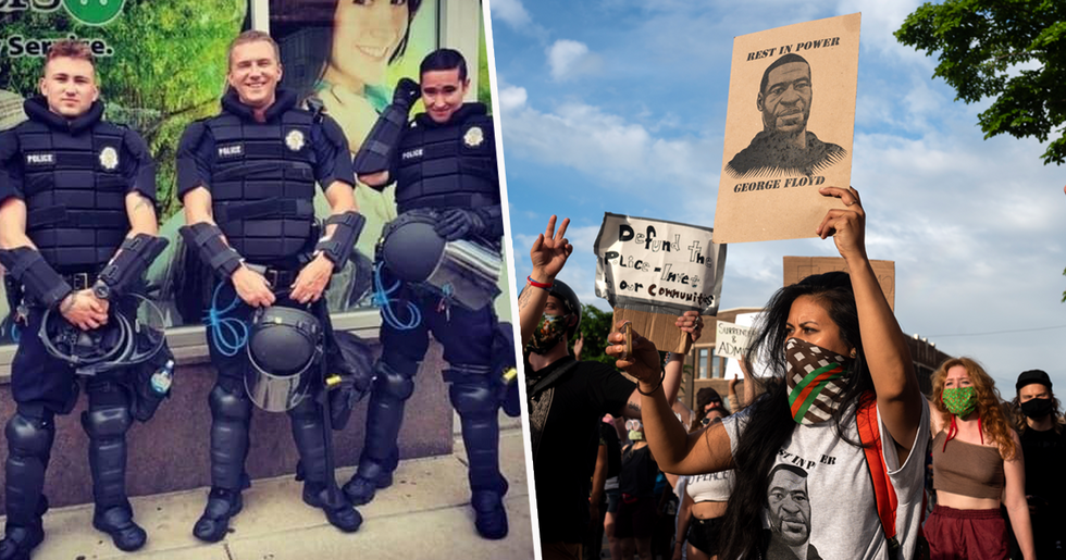 Cop Fired After Horrific Instagram Post About BLM Protests