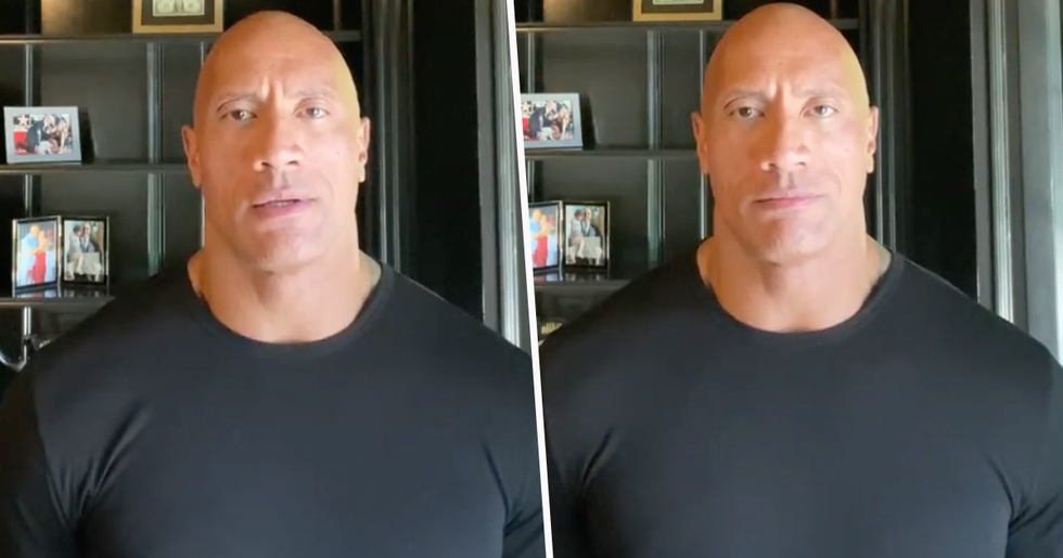 Dwayne Johnson Directly Calls out Donald Trump in Impassioned Speech