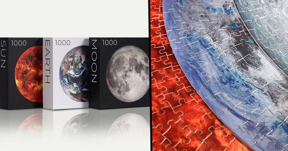 1,000 Piece Space Puzzles Are The Perfect Birthday Gift