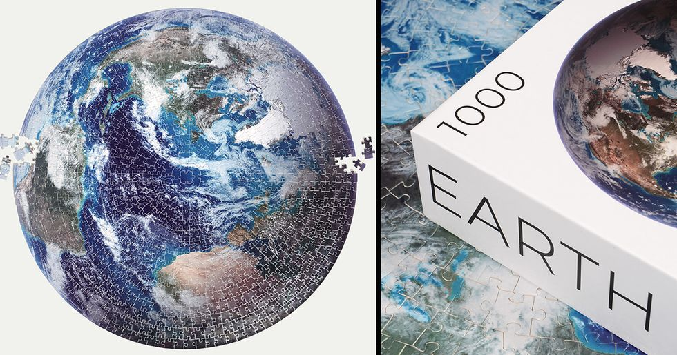 1,000 Piece Earth Puzzle Has to be Next on Your To-Do List