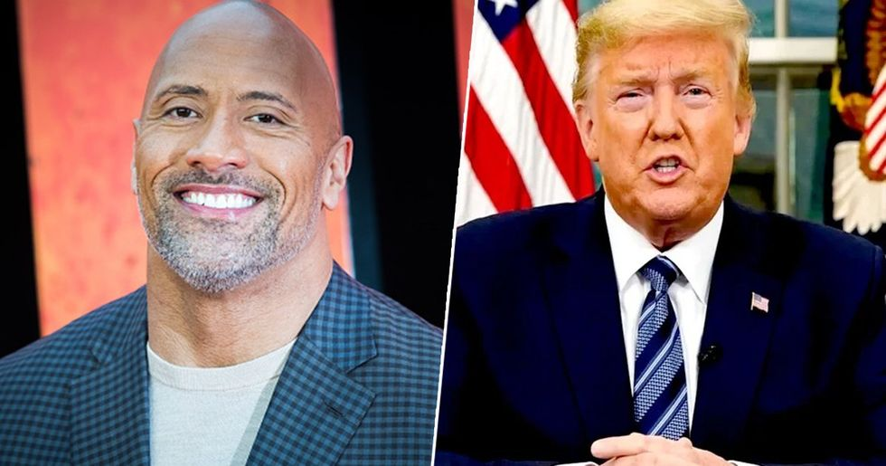 Dwayne Johnson Is Third Most Backed Presidential Candidate
