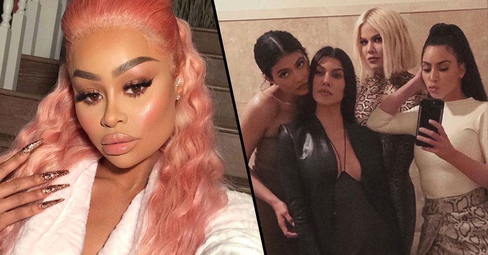 Kardashians Say Blac Chyna Has Stooped to New Low as She Accuses Them of Racism