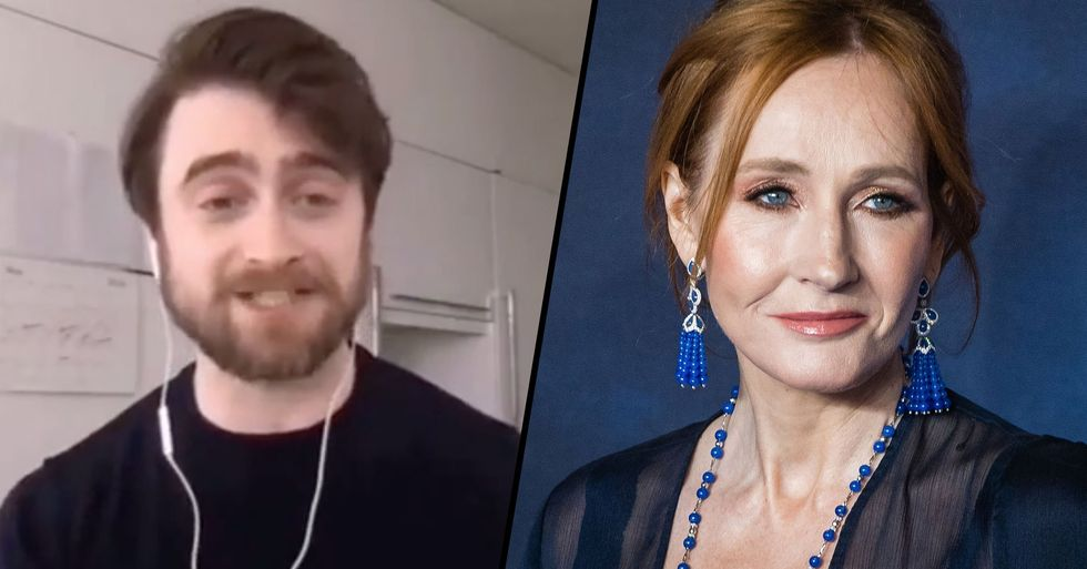 Daniel Radcliffe Claps Back at J.K. Rowling After her 'Disgusting' Anti-Trans Tweet