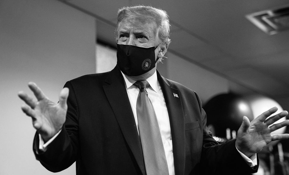 With 140K American Deaths Under His Watch, Trump Finally Endorses Wearing A Mask On Twitter