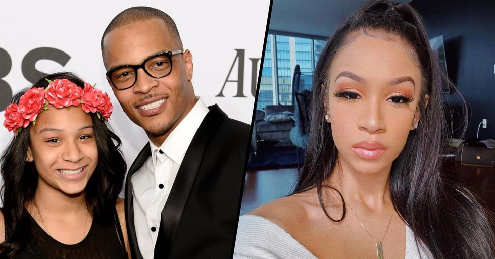 T.I's Daughter Finally Responds to His Confession About Her Virginity