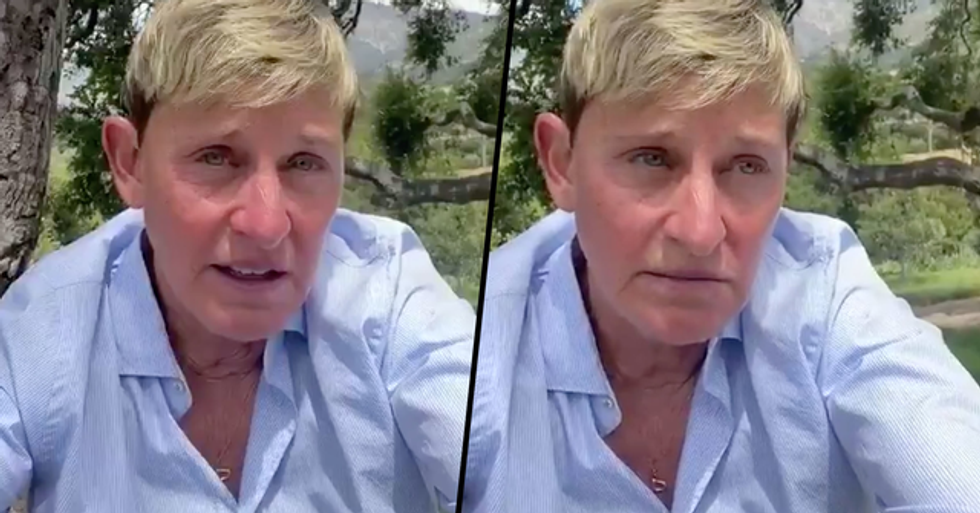 People Are Convinced Ellen DeGeneres Is on House Arrest After Spotting 'Ankle Monitor' in Pictures