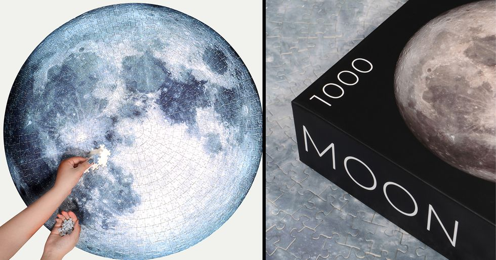 Company Turns Best Ever Picture of the Moon Into Stunning Jigsaw