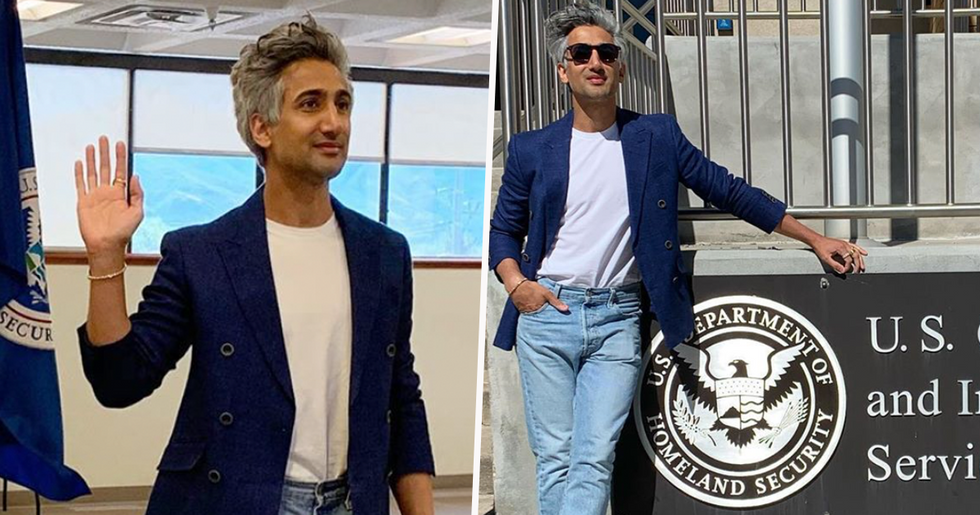 Tan France From 'Queer Eye' Just Became a US Citizen and the Fab Five Is Sending Him Love