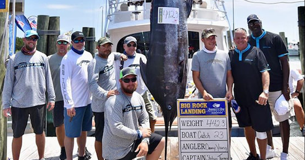 Michael Jordan Catches 442lb Blue Marlin in $3 Million Fishing Tournament