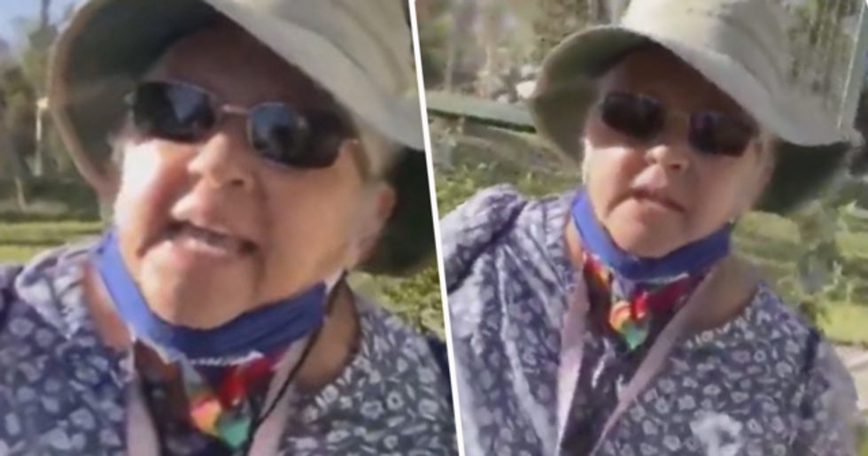 SoCal 'Karen' Goes on Racist Tirade Over Woman Exercising in Park