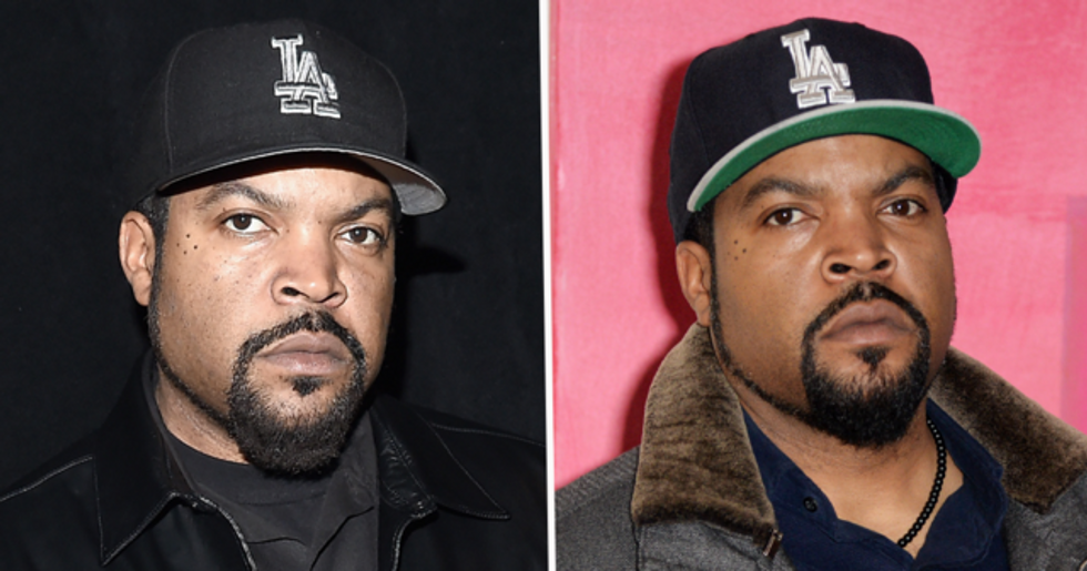 Ice Cube Under Fire After Tweeting 'Racist' Images and Conspiracy Theories