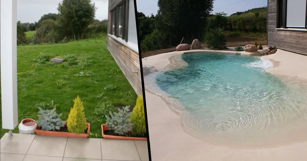 'Sand Pools' Are the Latest Backyard Trend and We're Obsessed